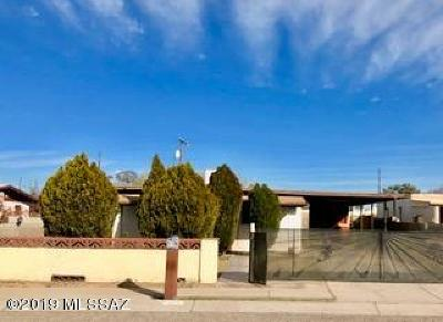 Pima County Single Family Home Active Contingent: 814 W Kelso Street