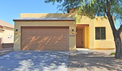 Tucson Single Family Home Active Contingent: 7597 S Granite Hill Drive