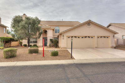 Oro Valley Single Family Home Active Contingent: 1891 W Desert Highlands Drive