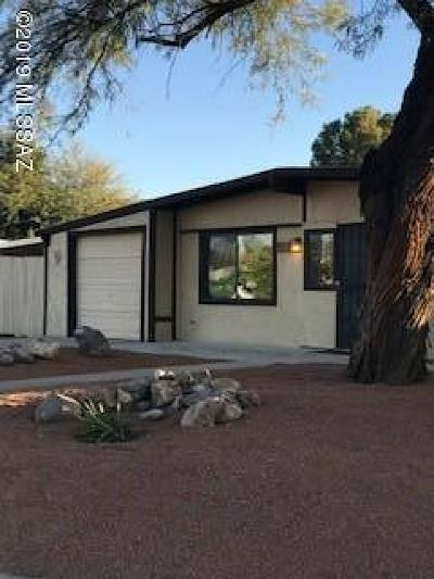 Tucson Single Family Home For Sale: 7912 E Timrod Place
