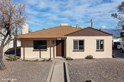 Tucson Single Family Home For Sale: 4637 E 8th Street
