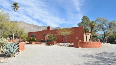 Tucson Single Family Home Active Contingent: 6226 N Camino Arco