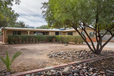 Tucson Single Family Home Active Contingent: 5752 E Waverly Street