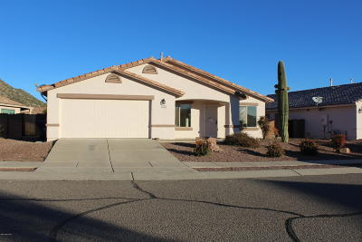 Tucson Single Family Home For Sale: 2592 W Brandy Crest
