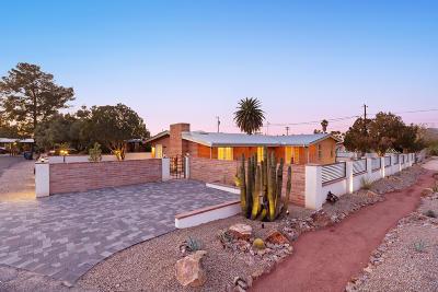 Tucson Single Family Home Active Contingent: 3685 E Baker Place