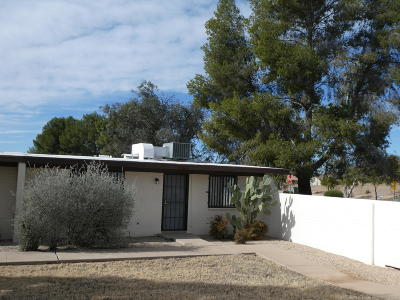 Pima County Townhouse For Sale: 3801 S Palm Side Drive