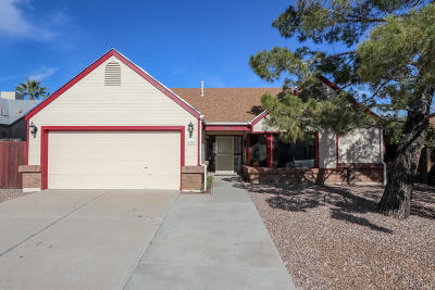 Tucson Single Family Home Active Contingent: 4278 W Rockwood Drive