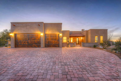 Tucson Single Family Home For Sale: 4488 N Hacienda Del Sol