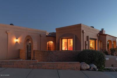 Tucson Single Family Home Active Contingent: 6810 E Via Colorada