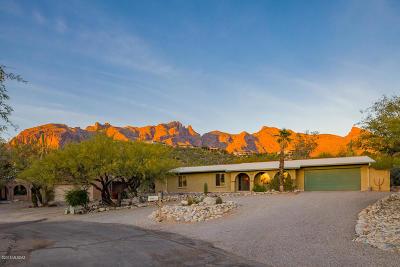 Tucson Single Family Home Active Contingent: 3565 E Thimble Peak Place