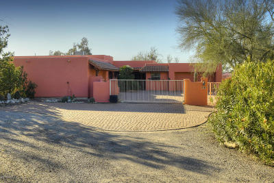 Tucson Single Family Home Active Contingent: 1181 W Roller Coaster Road