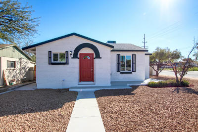 Tucson Single Family Home For Sale: 1802 E Silver Street