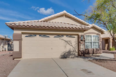 Tucson Single Family Home Active Contingent: 7268 W Odyssey Way