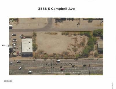 Tucson Residential Lots & Land Active Contingent: 3588 S Campbell Avenue