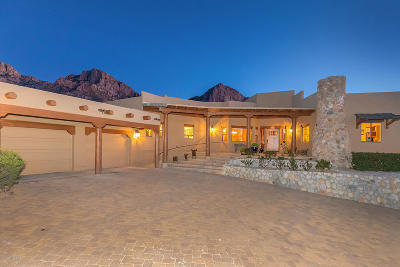 Oro Valley Single Family Home For Sale: 10280 E Cliff Dweller Place