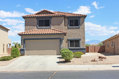 Tucson Single Family Home Active Contingent: 8702 N Moonfire Drive