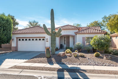 Tucson Single Family Home Active Contingent: 7671 W Summer Scene Drive
