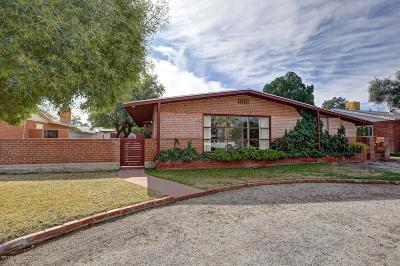 Tucson Single Family Home Active Contingent: 3530 E Hampton Street