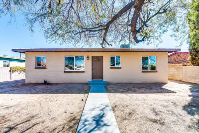 Tucson Single Family Home Active Contingent: 2129 S Hemlock Stravenue