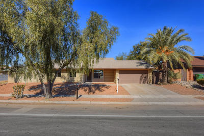 Tucson Single Family Home Active Contingent: 7267 N Meredith Boulevard