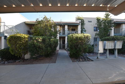 Pima County, Pinal County Condo Active Contingent: 7666 E 22nd Street #37