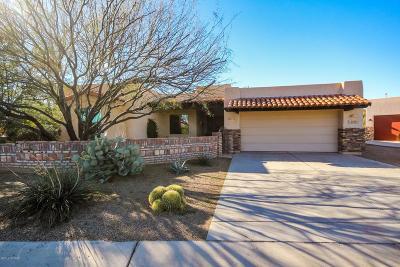 Tucson Single Family Home Active Contingent: 2536 W Overton Ridge Place