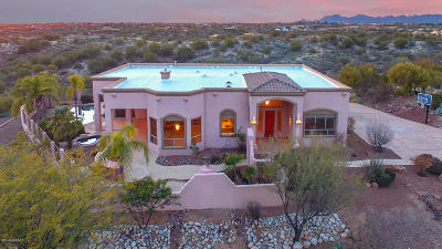 Oro Valley Single Family Home Active Contingent: 11525 N Skywire Way