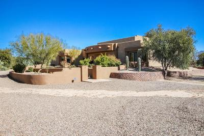 Pima County Single Family Home For Sale: 4795 W Camino De Manana
