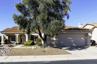 Oro Valley Single Family Home Active Contingent: 14279 N Silkwind Way