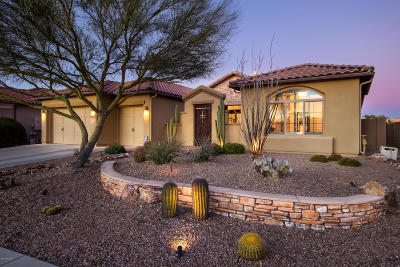 Oro Valley Single Family Home Active Contingent: 13756 N Tessali Way