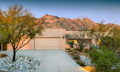 Tucson Single Family Home Active Contingent: 6200 N Via Presilla