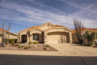 Oro Valley Single Family Home Active Contingent: 14242 N Cirrus Hill Drive