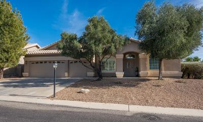 Oro Valley Single Family Home Active Contingent: 10938 N Mountain Breeze Drive