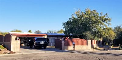 Tucson Single Family Home For Sale: 8431 E Sarnoff Place #T