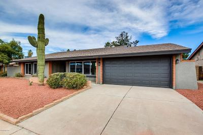 Tucson Single Family Home Active Contingent: 3448 W Bardot Street