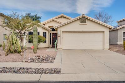 Tucson Single Family Home Active Contingent: 7252 W Kiwi Lane