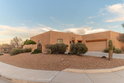 Tucson Single Family Home Active Contingent: 8045 N Painted Feather Drive