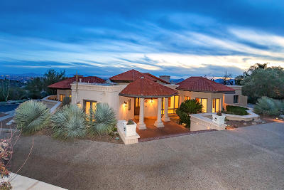 Pima County, Pinal County Single Family Home For Sale: 3420 E Finger Rock Circle