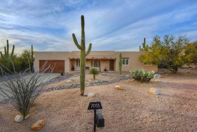 Tucson Single Family Home For Sale: 7055 N Doane Drive