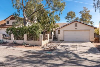 Tucson Single Family Home Active Contingent: 5055 W Nighthawk Way