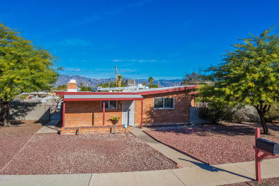 Tucson Single Family Home Active Contingent: 7113 E Luana Place