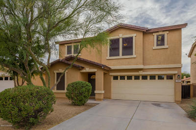 Single Family Home Active Contingent: 12885 N Desert Olive Drive