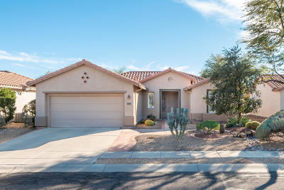 Tucson Single Family Home Active Contingent: 7657 W Cathedral Canyon Drive