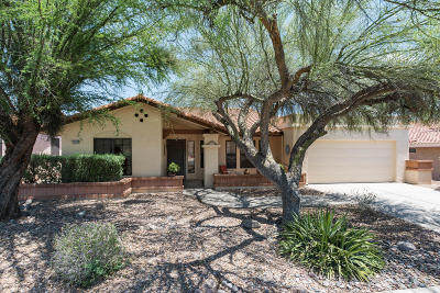 Oro Valley Single Family Home Active Contingent: 14540 N Lone Wolf Lane