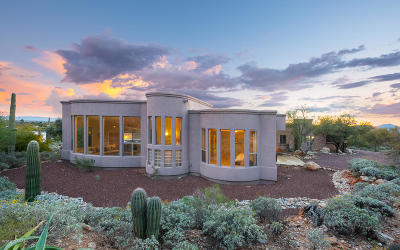 Tucson Single Family Home For Sale: 7020 N Camino De Fray Marcos