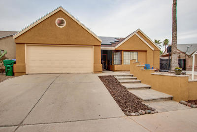 Tucson Single Family Home For Sale: 4290 W Rockwood Drive