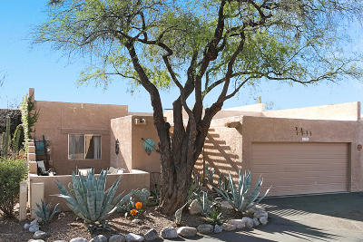Tucson Townhouse Active Contingent: 6449 N Foothills Drive