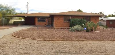Tucson Single Family Home For Sale: 5842 E Baker Street