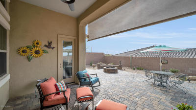 Marana Single Family Home For Sale: 7335 W Secret Bluff Pass