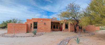 Tucson Single Family Home Active Contingent: 10185 N Shannon Road